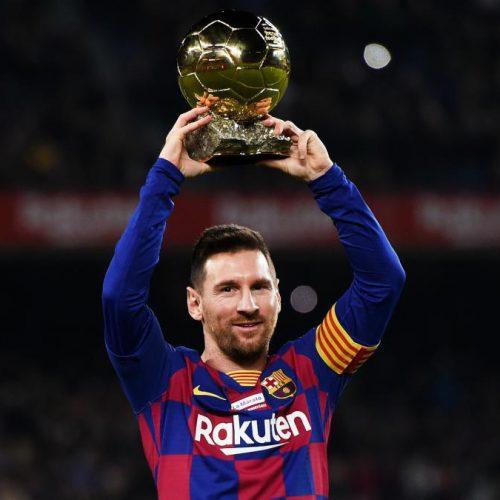 德国权威媒体评比,梅西获选近20年足球巨星排行第一名。