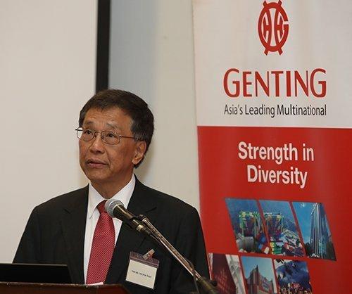 云顶香港主席兼总执行长丹斯里林国泰