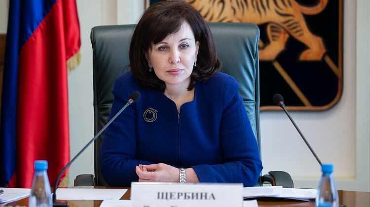 滨海边疆区第一副州长维拉·谢尔比纳(Vera Shcherbina)