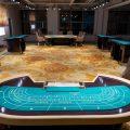 奕智博办公室设有赌桌