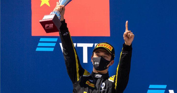 周冠宇成为中国第一位拿下F2冠军的车手