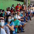 菲律宾全民防疫带面罩口罩