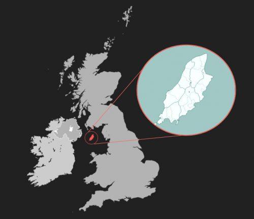 马恩岛地理位置
