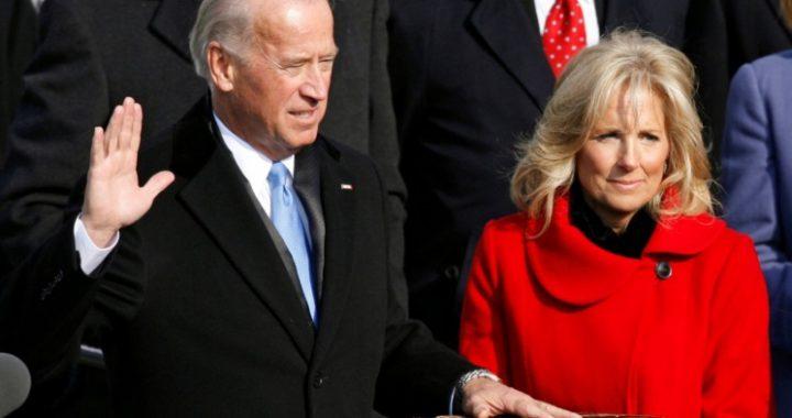 2009年拜登就职副总统宣示