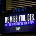 拉斯维加斯酒店纷纷在屏幕打上「CES我想念你」