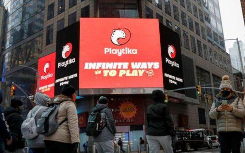 Playtika在美国纳斯达克挂牌上市