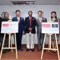 庄周文与爱新觉罗毓昊于马来西亚林肯大学成立2研究院
