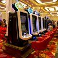 水晶虎宫殿赌场内伍丰制造的博彩游戏机台
