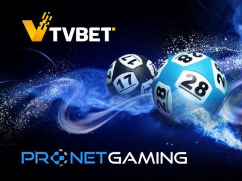 Pronet Gaming签署协议再向平台引入12个TVBET游戏