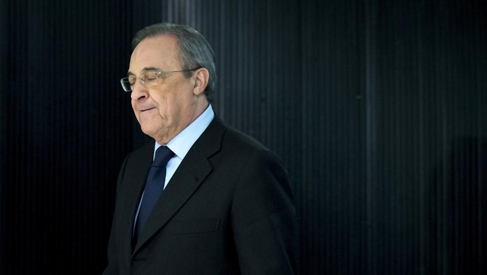 皇马主席Florentino Rodríguez