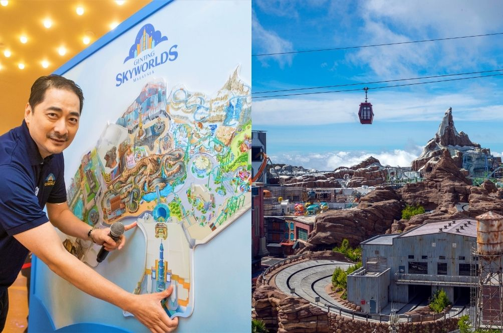 Genting Skyworlds is part of Resorts World Genting which is located in Genting Highlands