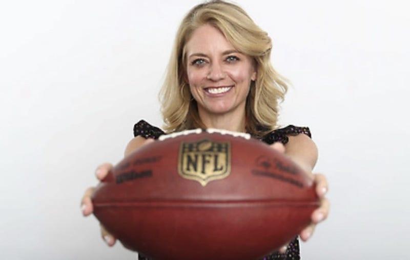 NFL執行副總裁Renie Anderson