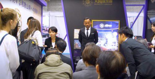 周焯华2019年亲自飞往和歌山宣布计划