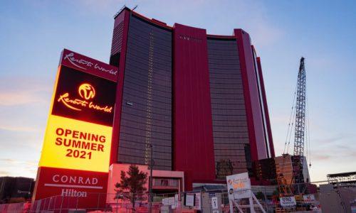 拉斯维加斯名胜世界赌场酒店即将开幕