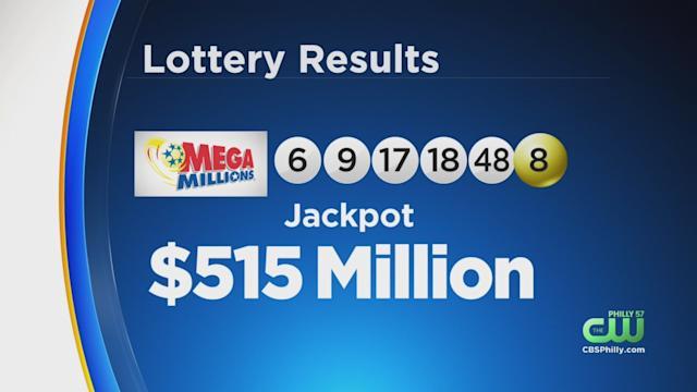 美国兆彩五亿头奖于宾州开出美国兆彩 Mega Millions 彩票 宾州 乐透