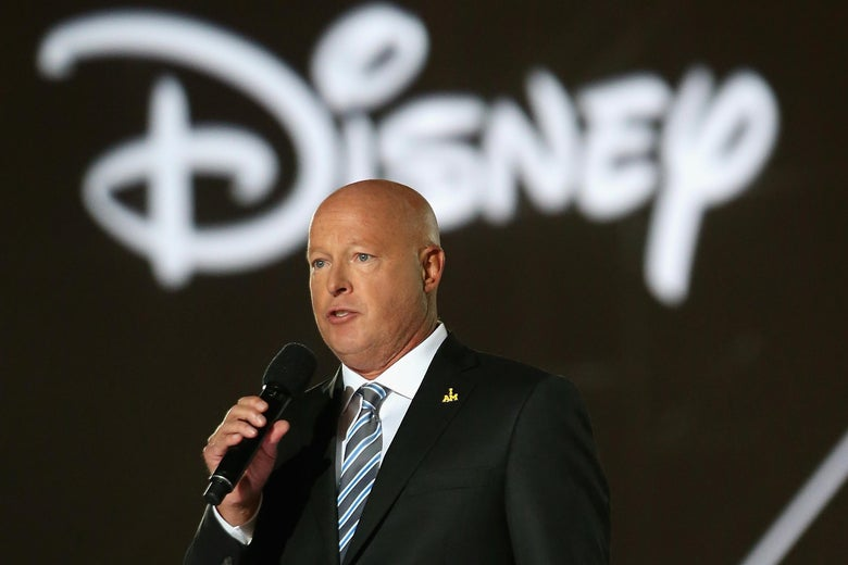迪士尼现任CEO查佩克