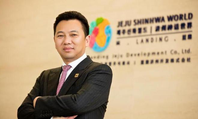 仰智慧有黄有龙牵线认识林国泰而顺利于韩国济州岛打造蓝鼎赌场